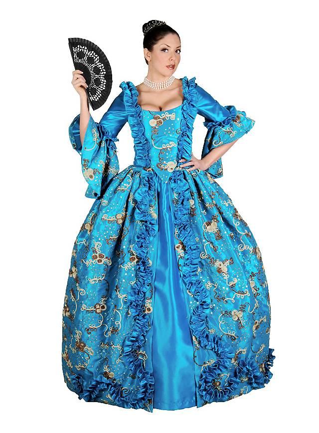 Rokoko Königin Kostüm