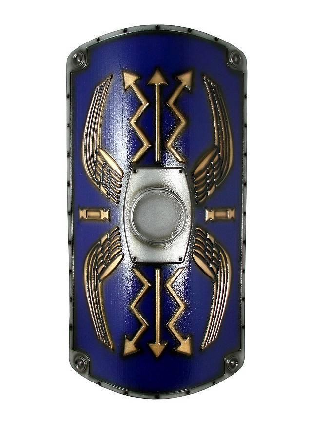 Roman Shield Scutum Deluxe Blue Foam Weapon Maskworld Com