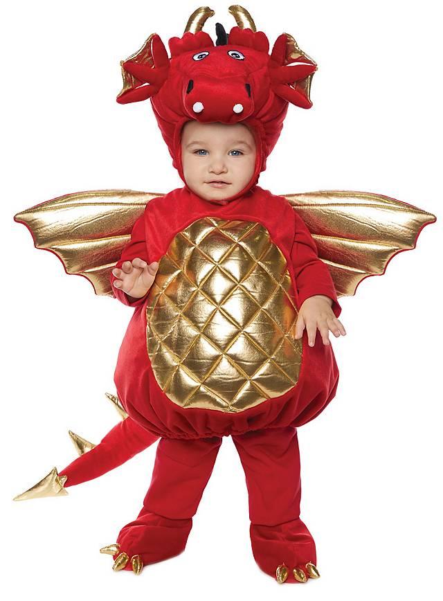Roter Drache Kinderkostüm