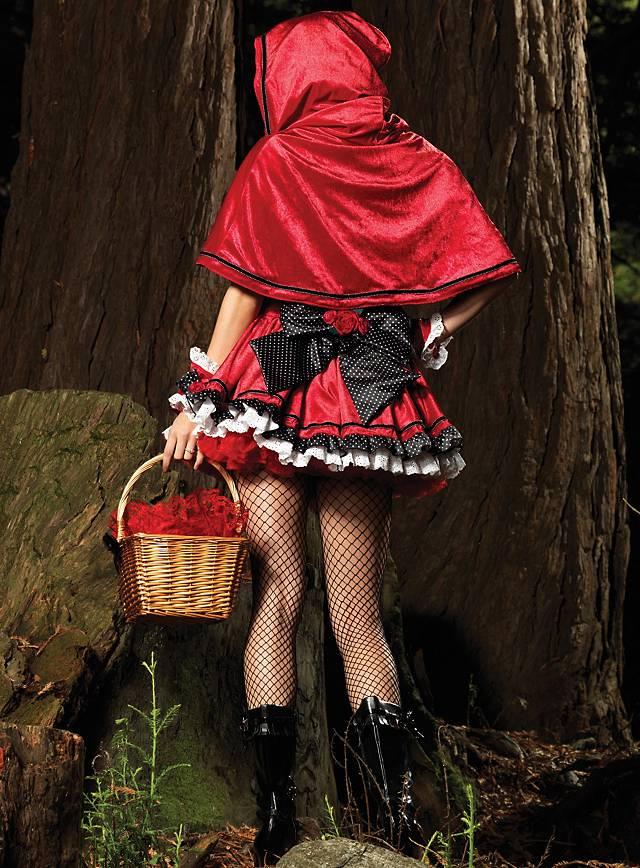 Rotkäppchen Deluxe Kostüm
