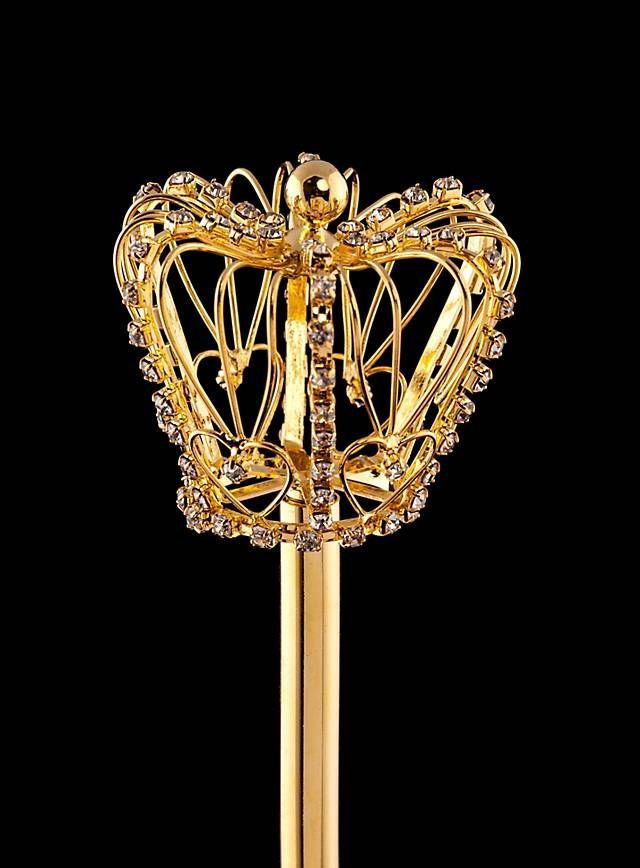 Royal Rhinestone Scepter gold
