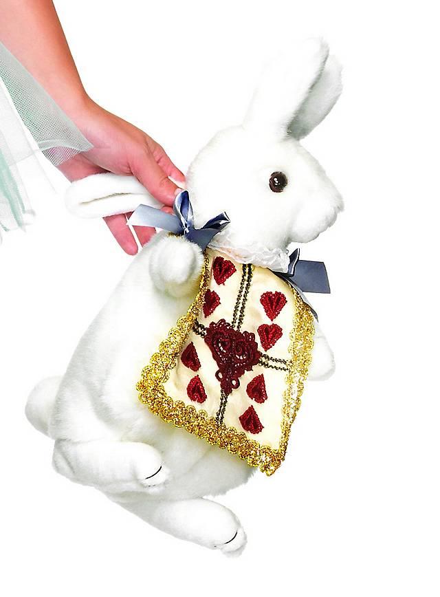 Sac à main lapin blanc et doré