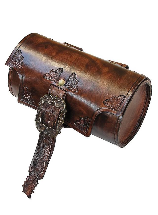 Sac cylindre d'habitant des bois