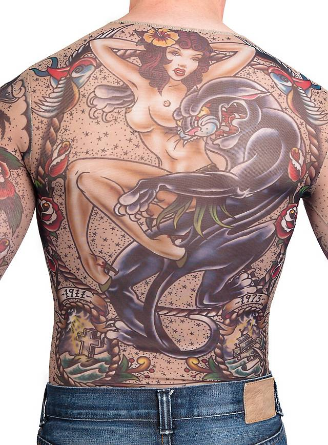 Sailor tattoo shirt for Tattoo t shirts wholesale