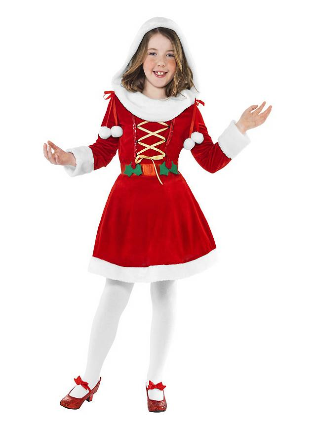 41f7ea3ad9a Santa Girl Kids Costume - maskworld.com