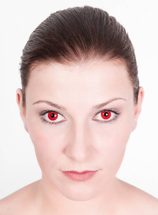 Red Contact Lenses Satan