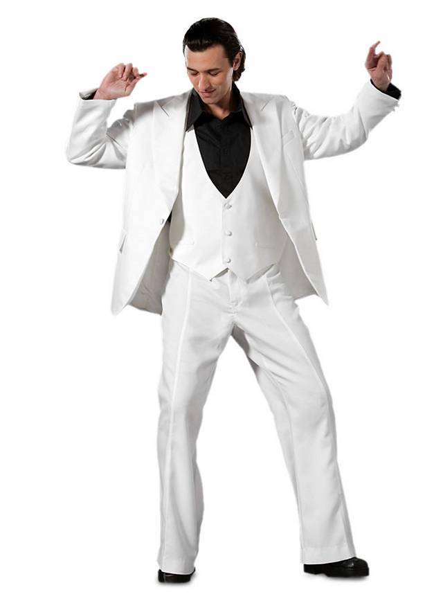 Saturday Night Fever Suit white