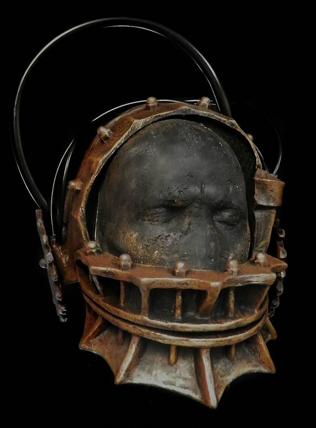 SAW Bärenfalle Maske aus Latex