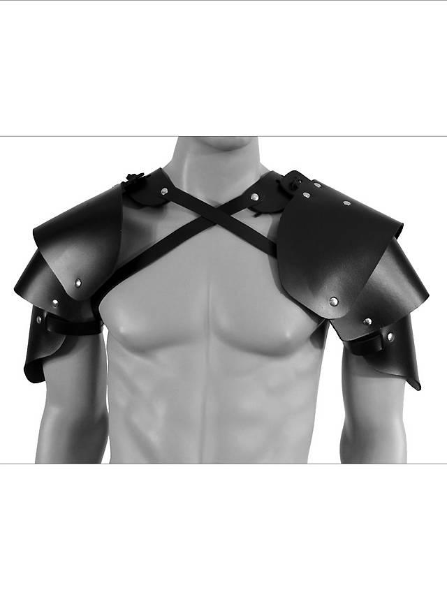Schurken Schulterschutz aus Leder