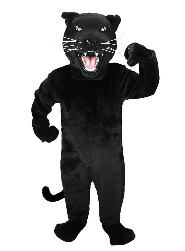 Schwarzer Panther Maskottchen