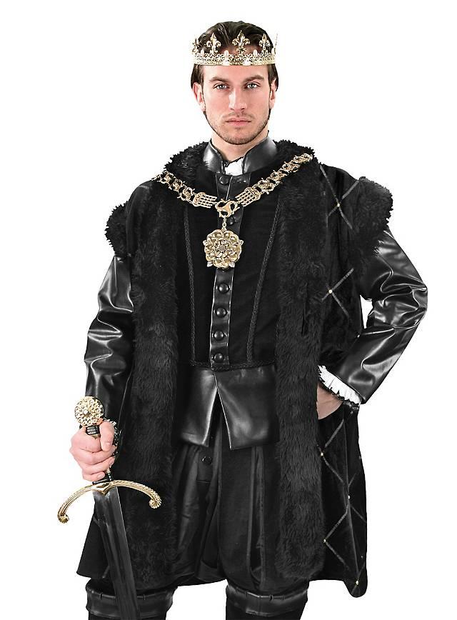 Schwarzer Samtmantel Heinrich VIII.