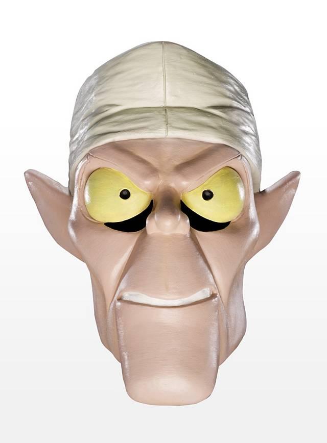 Scooby-Doo Dr. Coffin Maske aus Latex