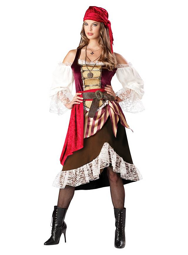 Seafaring Wench Pirate Costume