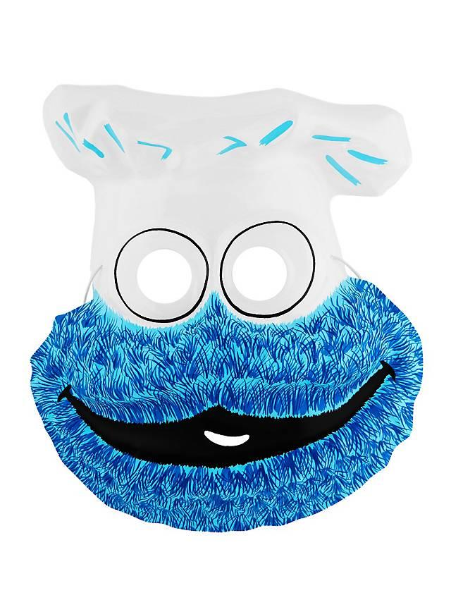Sesame Street Cookie Monster PVC Kids Mask