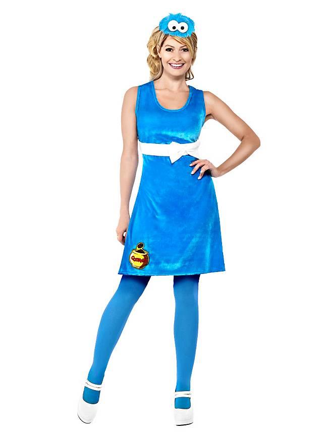 Sesamstraße Krümmelmonster Kleid