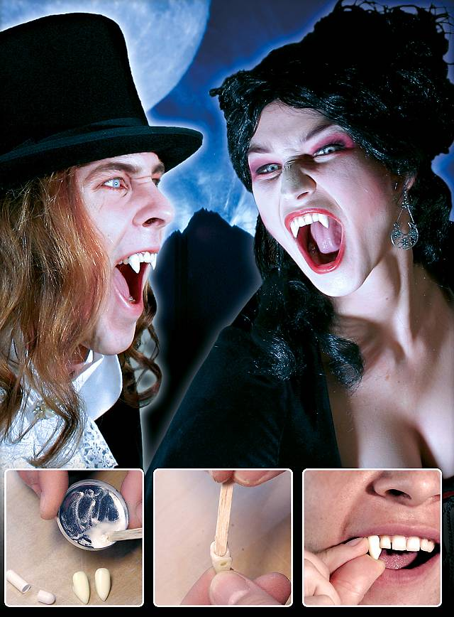 Set de rechange Dents de vampire
