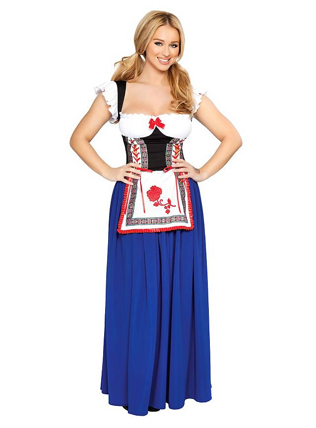 Sexy Alpenmädchen Kostüm
