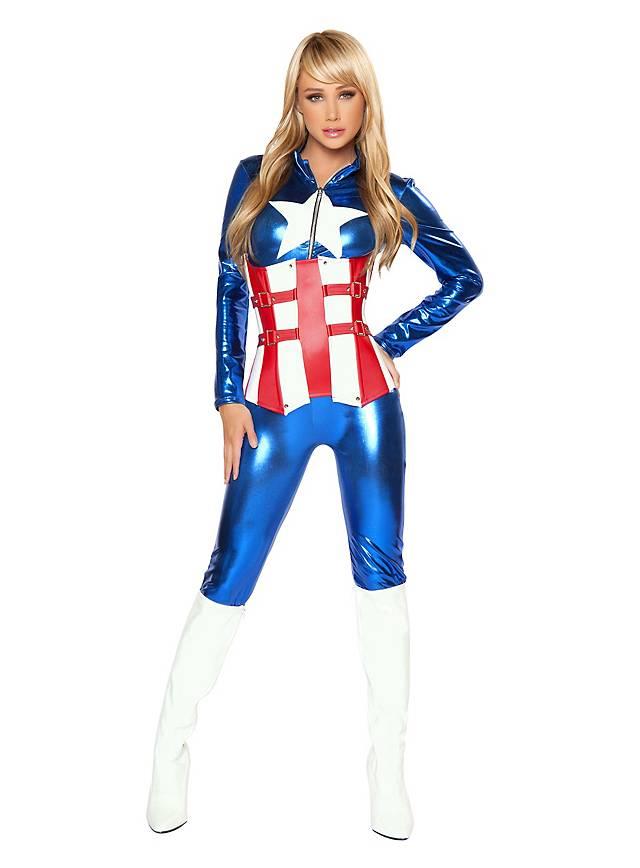 Sexy American Hero Kostüm