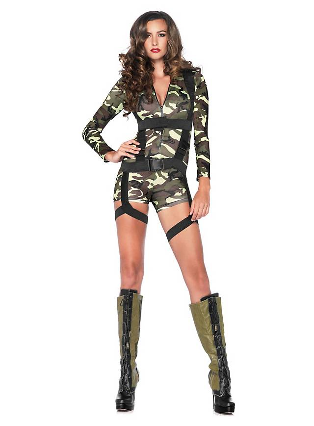 Sexy Army Soldier Costume