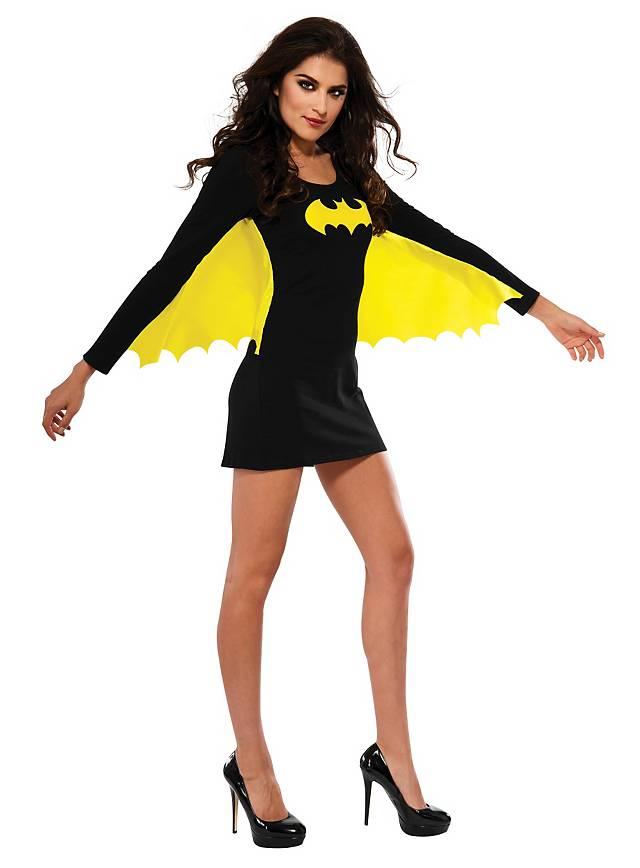 Sexy Batgirl mit Flügeln Kostüm