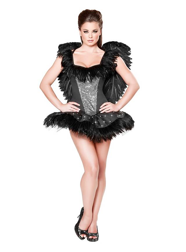 Sexy Black Swan Costume  sc 1 st  Maskworld : black swan couple costume  - Germanpascual.Com