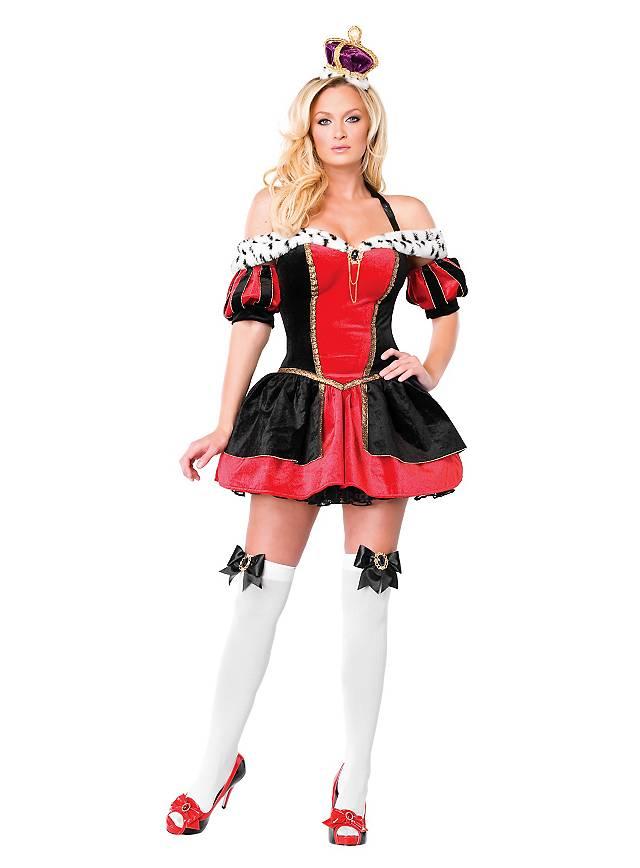 Sexy Böse Königin Kostüm