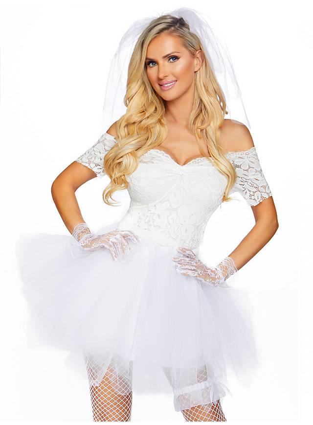 Sexy Brautkleid Kostüm