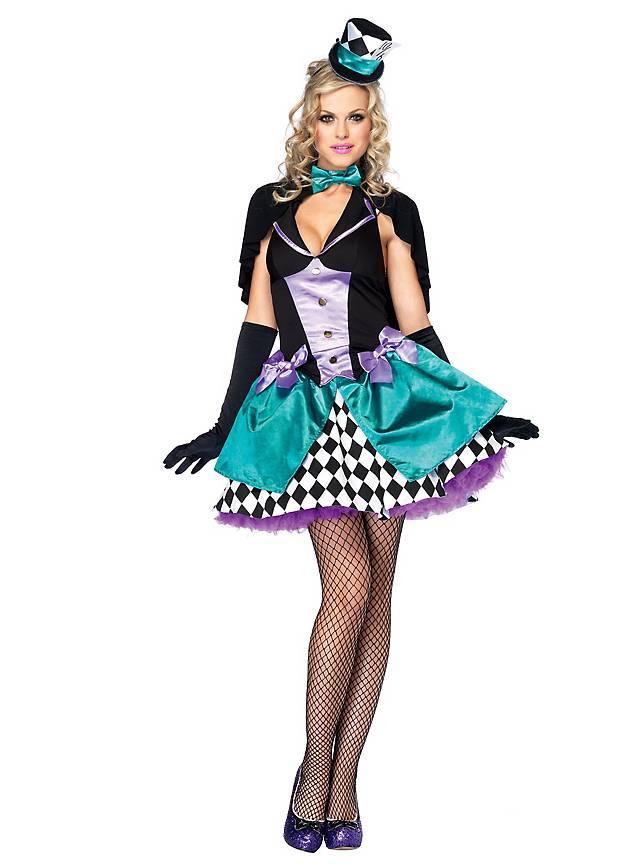 Sexy Burlesque Hatter Costume