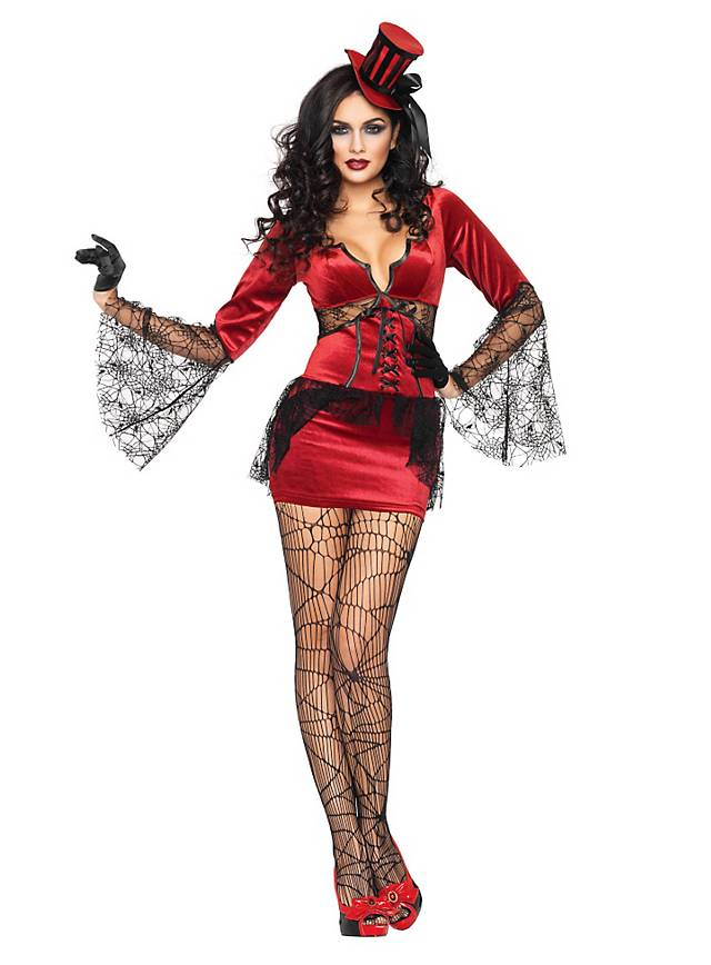Sexy Burlesque Vampirin Kostüm