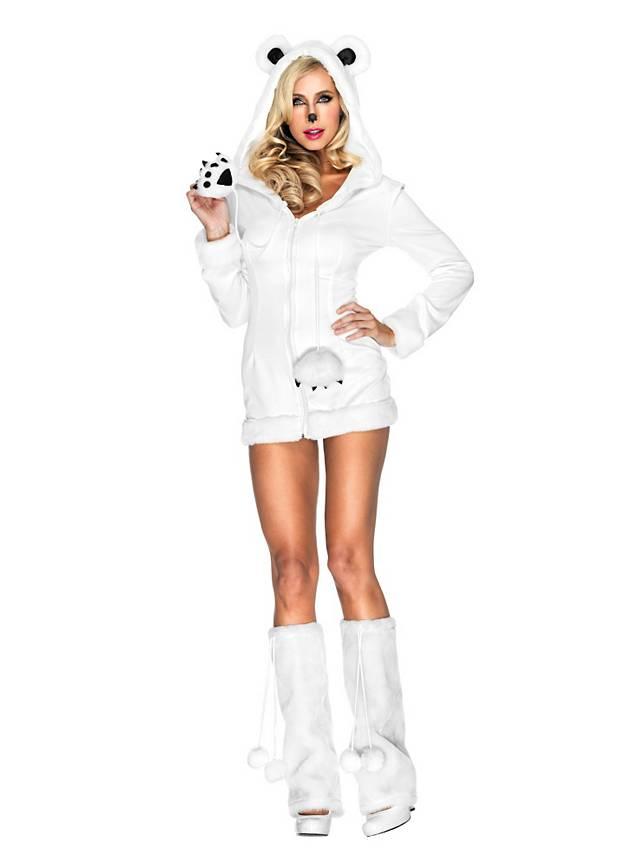 Sexy Eisbärin Kostüm