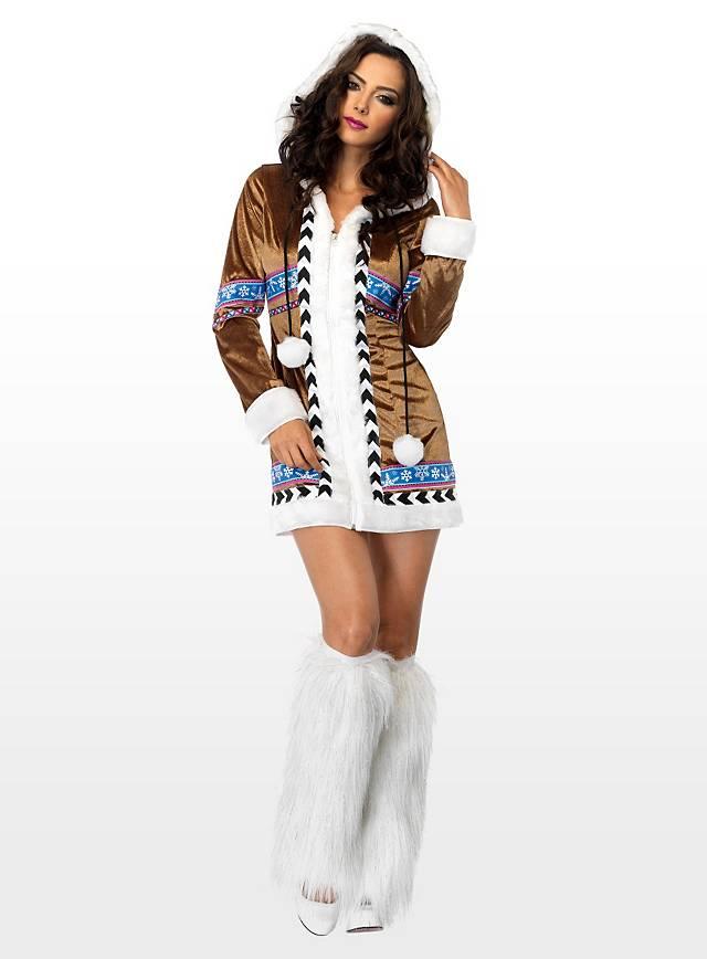 Sexy Eskimo Prinzessin Kostüm