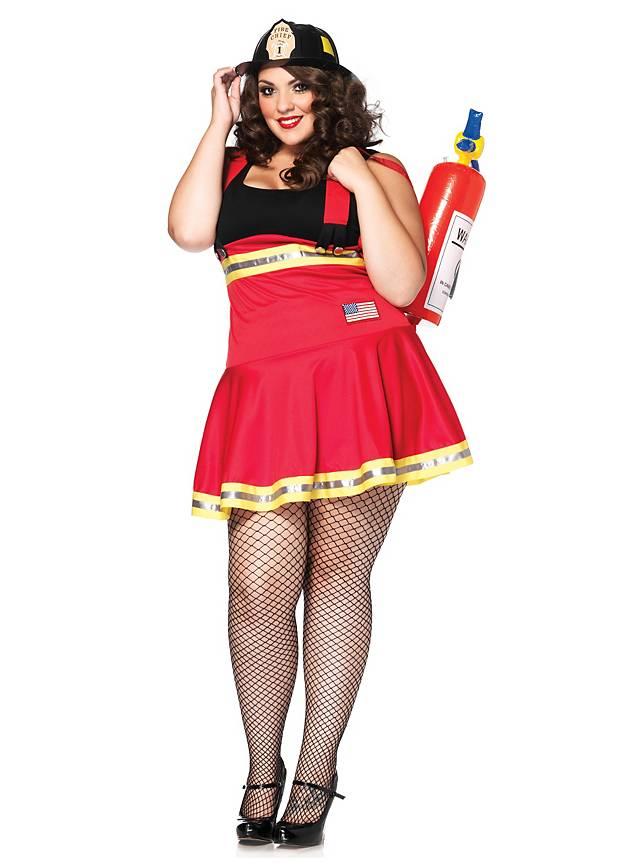 akribische Färbeprozesse bester Großhändler ungeschlagen x Sexy Feuerwehr Pin-up Kostüm