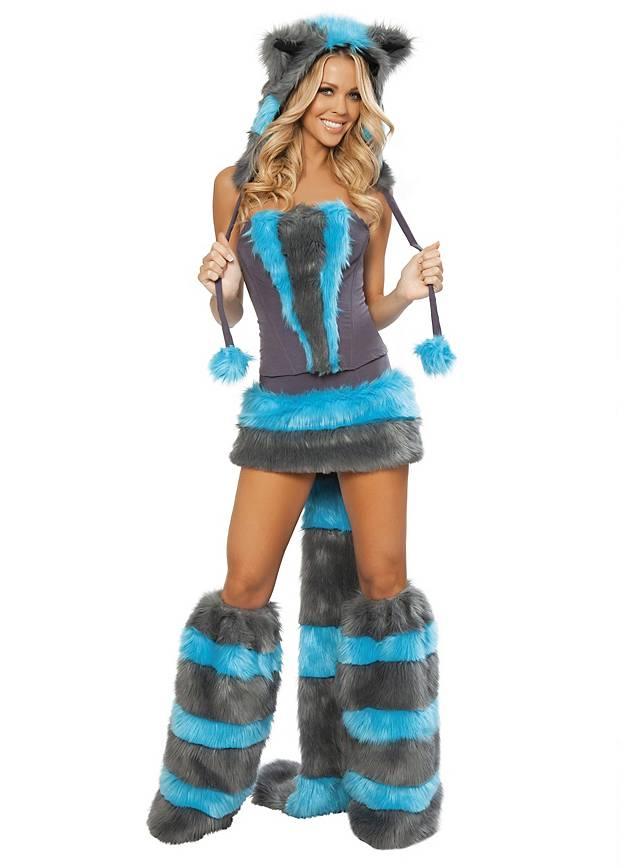 Sexy Grinsekatze Premium Edition Kostüm