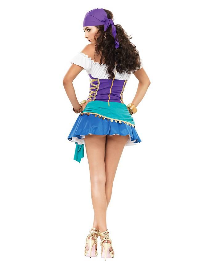 Sexy Gypsy Woman Costume