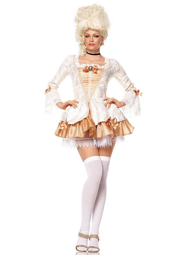 Sexy Hofdame Kostüm