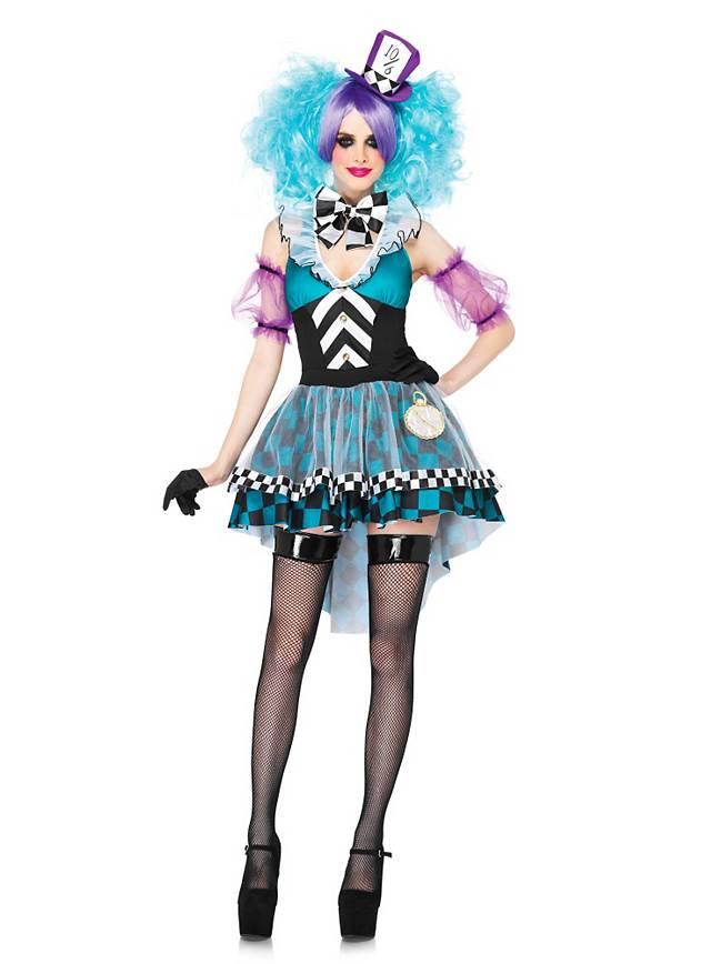 Sexy Hutmacherin Kostüm