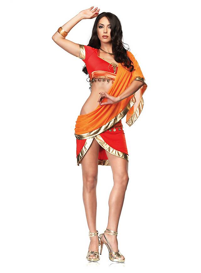 Adult sexy indian costume