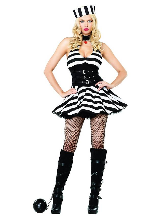 Sexy Jail Bird Costume  sc 1 st  Maskworld & Sexy Jail Bird Costume - maskworld.com