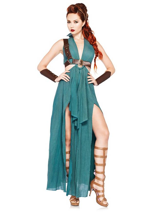 Sexy Kämpferin Kostüm