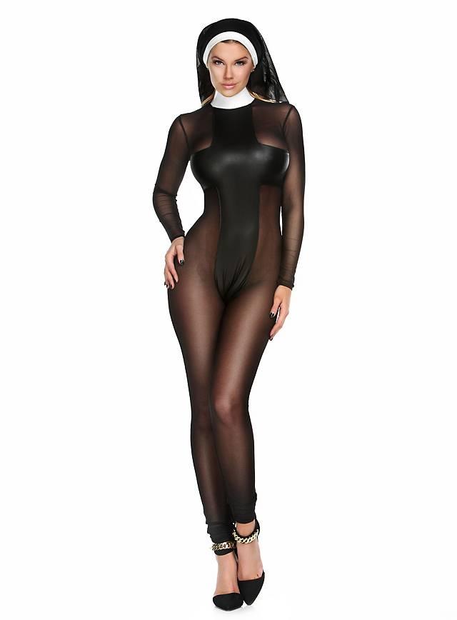 Sexy Klosterschwester Kostüm