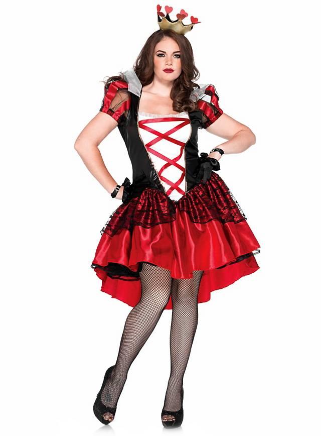 Sexy Königin der Herzen Kostüm