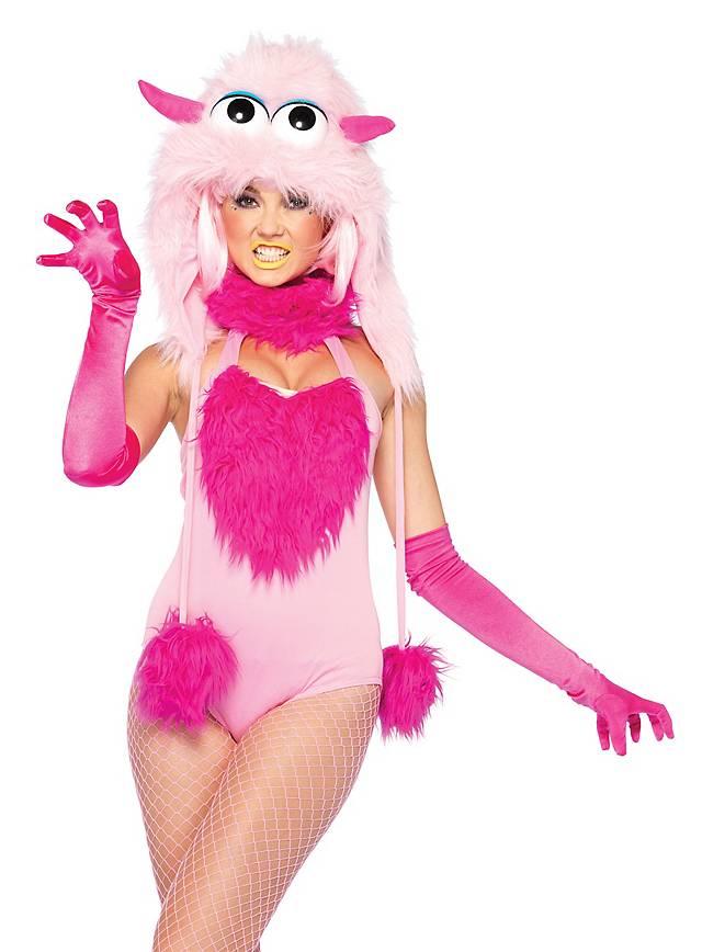 Sexy Kuschelmonster pink Bodysuit