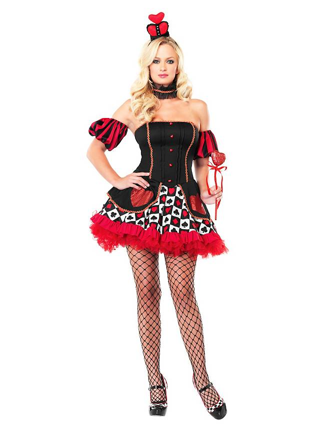 Sexy Lady of Hearts Costume