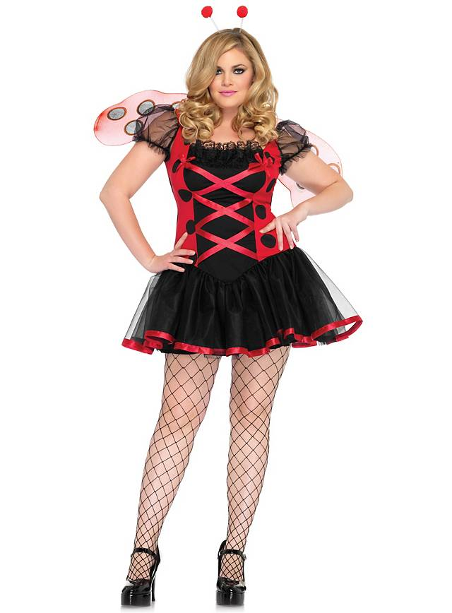 Sexy Ladybug Plus Costume