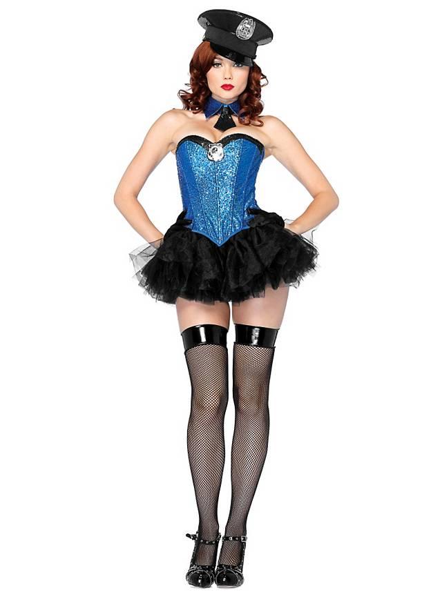 Sexy Las Vegas Polizistin Kostum Maskworld Com