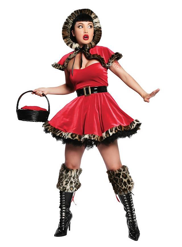 Alpine Red Riding Hood Teen Costume - maskworld.com