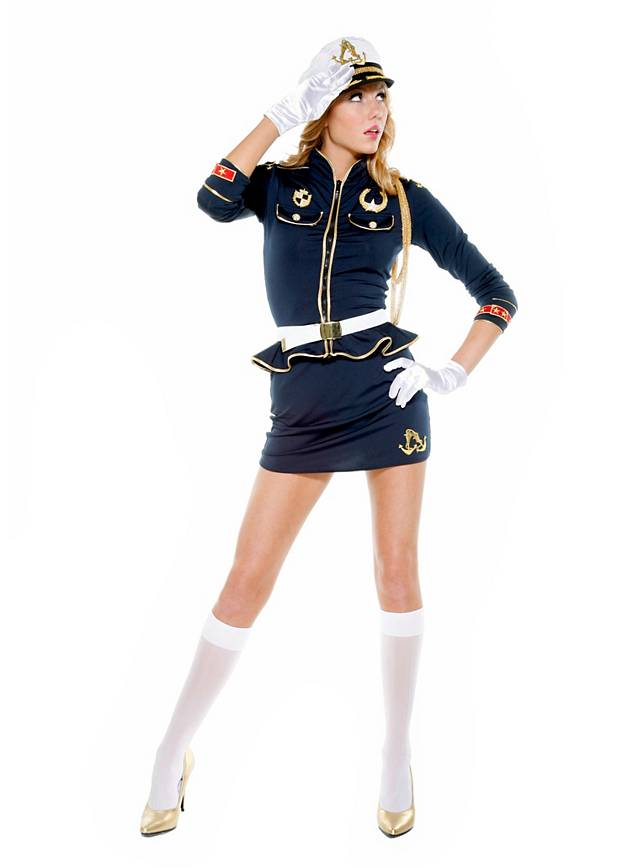 Sexy Marinekapitän Kostüm