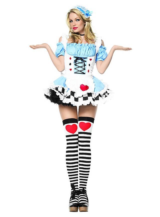 Sexy Miss Wunderland Kostüm