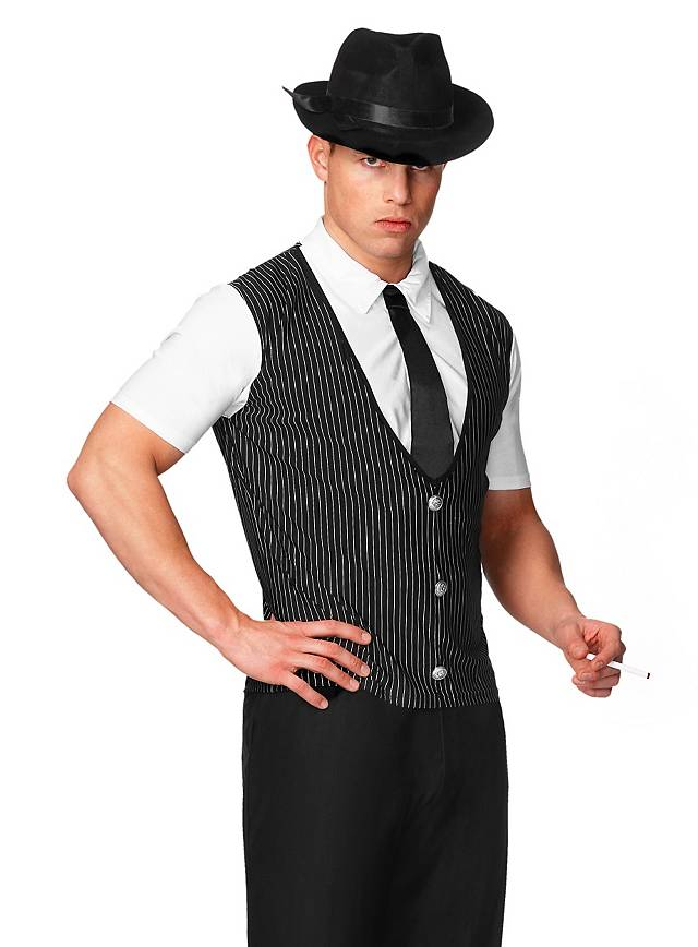 Sexy Mobster Costume for Your Black and White Party