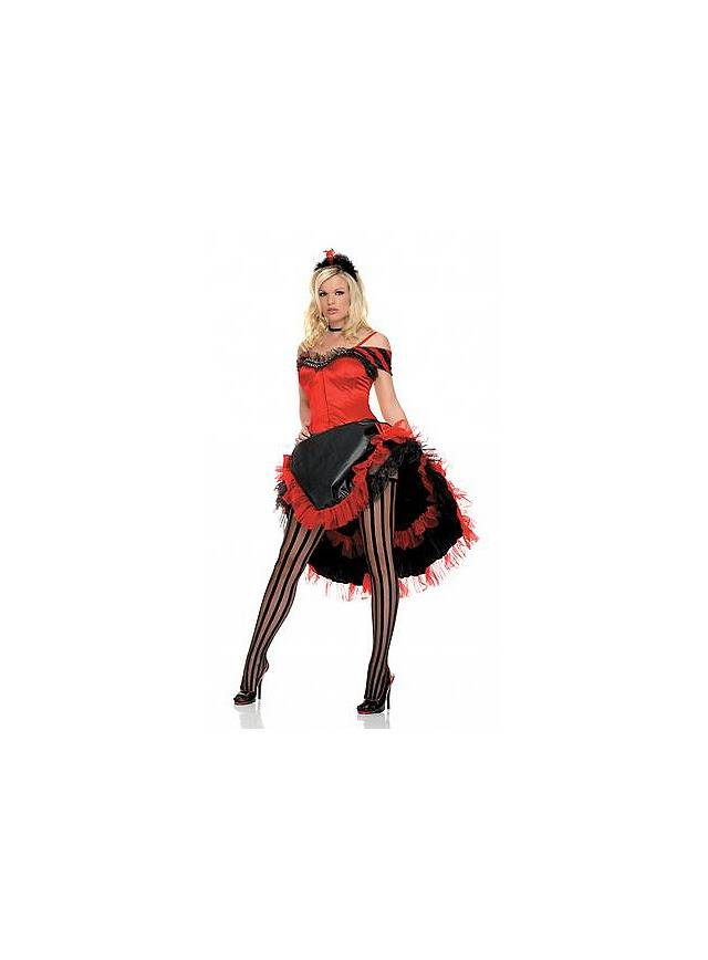 Sexy Moulin Rouge Kostüm